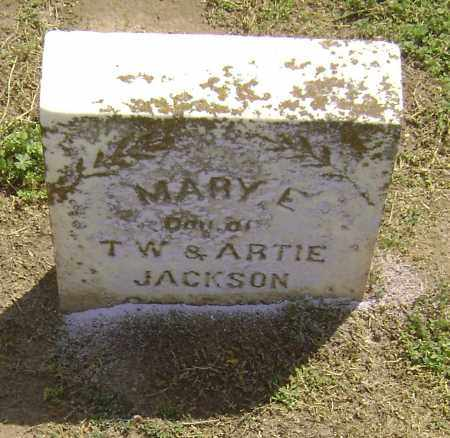 JACKSON SNOW, MARY E - Lawrence County, Arkansas | MARY E JACKSON SNOW - Arkansas Gravestone Photos