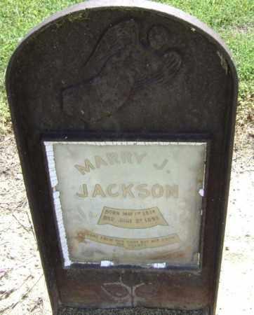 JACKSON, MARRY J - Lawrence County, Arkansas   MARRY J JACKSON - Arkansas Gravestone Photos