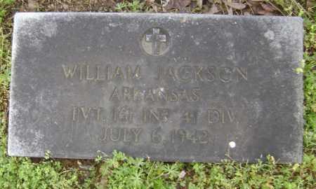 JACKSON (VETERAN WWII), WILLIAM - Lawrence County, Arkansas   WILLIAM JACKSON (VETERAN WWII) - Arkansas Gravestone Photos