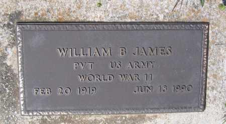 JAMES (VETERAN WWII), WILLIAM BONNER - Lawrence County, Arkansas | WILLIAM BONNER JAMES (VETERAN WWII) - Arkansas Gravestone Photos