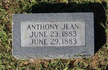 JEAN, ANTHONY - Lawrence County, Arkansas | ANTHONY JEAN - Arkansas Gravestone Photos