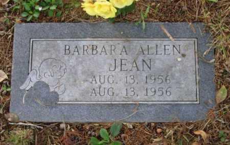 JEAN, BARBARA ALLEN - Lawrence County, Arkansas | BARBARA ALLEN JEAN - Arkansas Gravestone Photos