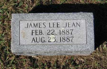 JEAN, JAMES LEE - Lawrence County, Arkansas | JAMES LEE JEAN - Arkansas Gravestone Photos