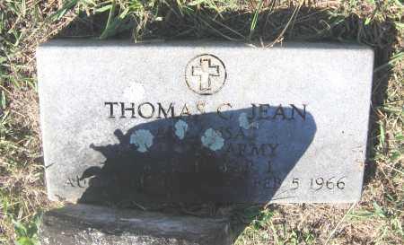 JEAN (VETERAN WWI), THOMAS CARLISLE - Lawrence County, Arkansas   THOMAS CARLISLE JEAN (VETERAN WWI) - Arkansas Gravestone Photos