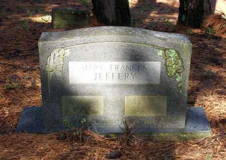 JEFFERY, MARY FRANCES - Lawrence County, Arkansas | MARY FRANCES JEFFERY - Arkansas Gravestone Photos