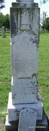 JENNINGS, MARTHA E. - Lawrence County, Arkansas | MARTHA E. JENNINGS - Arkansas Gravestone Photos