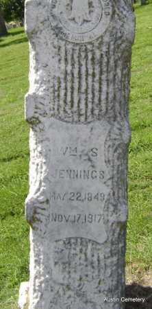 JENNINGS, WILLIAM S. - Lawrence County, Arkansas   WILLIAM S. JENNINGS - Arkansas Gravestone Photos
