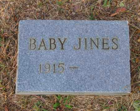 JINES, BABY - Lawrence County, Arkansas | BABY JINES - Arkansas Gravestone Photos