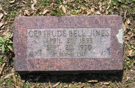 JINES, GERTRUDE BELL - Lawrence County, Arkansas | GERTRUDE BELL JINES - Arkansas Gravestone Photos