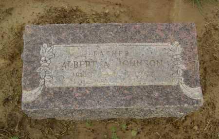 JOHNSON, ALBERT ARTHUR - Lawrence County, Arkansas   ALBERT ARTHUR JOHNSON - Arkansas Gravestone Photos