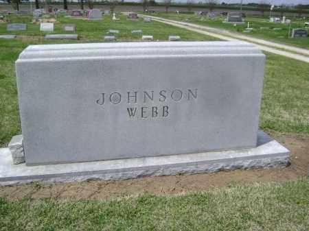 JOHNSON-WEBB FAMILY STONE,  - Lawrence County, Arkansas    JOHNSON-WEBB FAMILY STONE - Arkansas Gravestone Photos