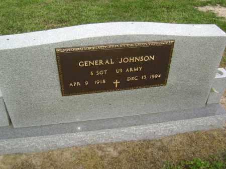 JOHNSON  (VETERAN), GENERAL - Lawrence County, Arkansas | GENERAL JOHNSON  (VETERAN) - Arkansas Gravestone Photos