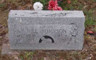JOHNSON, BILL - Lawrence County, Arkansas | BILL JOHNSON - Arkansas Gravestone Photos