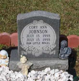 JOHNSON, CORY ANN - Lawrence County, Arkansas   CORY ANN JOHNSON - Arkansas Gravestone Photos