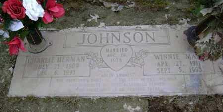 JOHNSON, WINNIE MAE - Lawrence County, Arkansas   WINNIE MAE JOHNSON - Arkansas Gravestone Photos