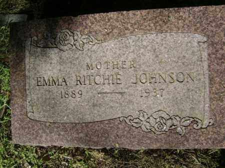 RITCHIE JOHNSON, EMMA - Lawrence County, Arkansas | EMMA RITCHIE JOHNSON - Arkansas Gravestone Photos