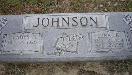 JOHNSON, EZRA B. - Lawrence County, Arkansas   EZRA B. JOHNSON - Arkansas Gravestone Photos