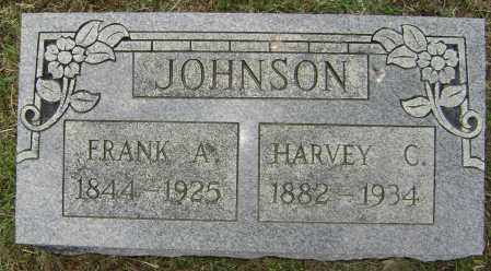 JOHNSON, HARVEY C. - Lawrence County, Arkansas | HARVEY C. JOHNSON - Arkansas Gravestone Photos