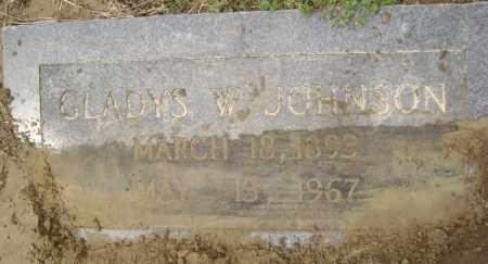 JOHNSON, GLADYS - Lawrence County, Arkansas | GLADYS JOHNSON - Arkansas Gravestone Photos