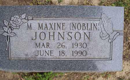 JOHNSON, M. MAXINE - Lawrence County, Arkansas | M. MAXINE JOHNSON - Arkansas Gravestone Photos