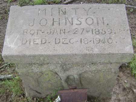 JOHNSON, MINTY - Lawrence County, Arkansas | MINTY JOHNSON - Arkansas Gravestone Photos