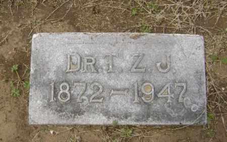 JOHNSON, MD, T. Z. - Lawrence County, Arkansas | T. Z. JOHNSON, MD - Arkansas Gravestone Photos
