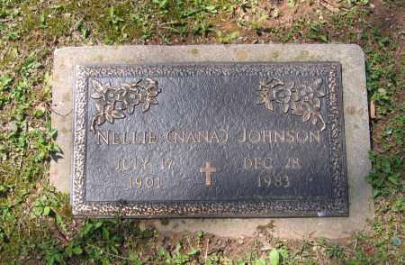 "JOHNSON, NELLIE MARIE ""NANA"" - Lawrence County, Arkansas | NELLIE MARIE ""NANA"" JOHNSON - Arkansas Gravestone Photos"