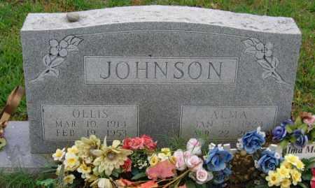 MORRIS, ALMA POWERS JOHNSON - Lawrence County, Arkansas | ALMA POWERS JOHNSON MORRIS - Arkansas Gravestone Photos