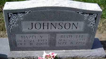 JOHNSON, HAZEL V. - Lawrence County, Arkansas | HAZEL V. JOHNSON - Arkansas Gravestone Photos
