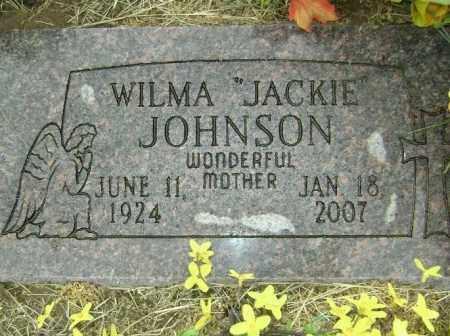 JOHNSON, WILMA JACKIE - Lawrence County, Arkansas | WILMA JACKIE JOHNSON - Arkansas Gravestone Photos