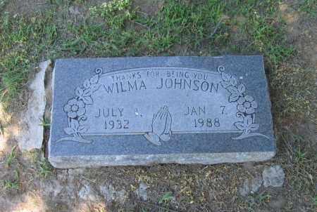 BENNETT JOHNSON, WILMA FERN - Lawrence County, Arkansas | WILMA FERN BENNETT JOHNSON - Arkansas Gravestone Photos