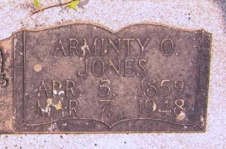 JONES, ARMINTA O. - Lawrence County, Arkansas | ARMINTA O. JONES - Arkansas Gravestone Photos