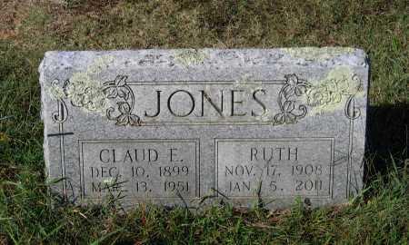 JONES, CLAUD ELMER - Lawrence County, Arkansas   CLAUD ELMER JONES - Arkansas Gravestone Photos