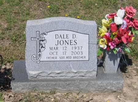 JONES, DALE D. - Lawrence County, Arkansas | DALE D. JONES - Arkansas Gravestone Photos
