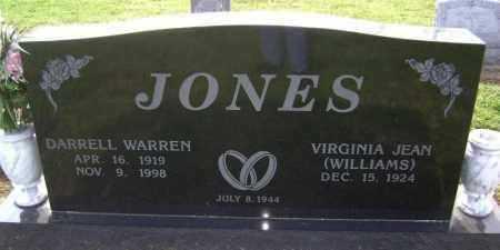 JONES, DARRELL WARREN - Lawrence County, Arkansas | DARRELL WARREN JONES - Arkansas Gravestone Photos