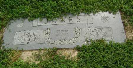 JONES, IVA E. - Lawrence County, Arkansas | IVA E. JONES - Arkansas Gravestone Photos