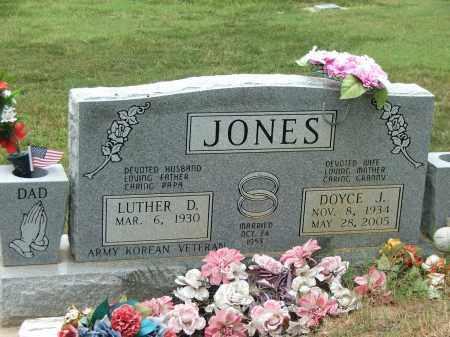 JONES, DOYCE JEAN - Lawrence County, Arkansas | DOYCE JEAN JONES - Arkansas Gravestone Photos