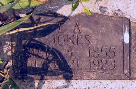 JONES, ELBERT A. - Lawrence County, Arkansas | ELBERT A. JONES - Arkansas Gravestone Photos