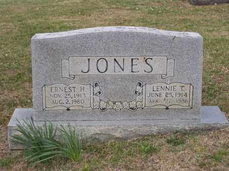 JONES, LENNIE TENNESSEE - Lawrence County, Arkansas | LENNIE TENNESSEE JONES - Arkansas Gravestone Photos