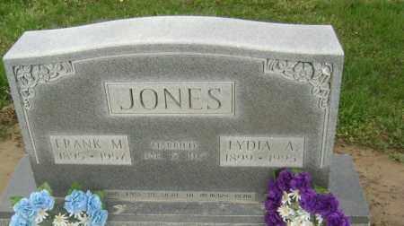 JONES, FRANK M. - Lawrence County, Arkansas | FRANK M. JONES - Arkansas Gravestone Photos