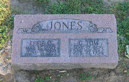 "JONES, GEORGE THOMAS ""G. TOM"" - Lawrence County, Arkansas 