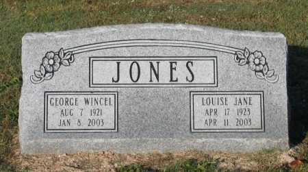 DAWSON JONES, LOUISE JANE - Lawrence County, Arkansas | LOUISE JANE DAWSON JONES - Arkansas Gravestone Photos