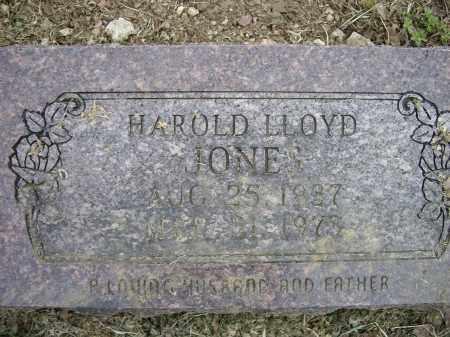 JONES, HAROLD LLOYD - Lawrence County, Arkansas | HAROLD LLOYD JONES - Arkansas Gravestone Photos