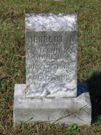 JONES, HERBERT A. - Lawrence County, Arkansas | HERBERT A. JONES - Arkansas Gravestone Photos