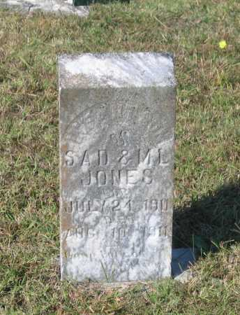 JONES, INFANT SON - Lawrence County, Arkansas   INFANT SON JONES - Arkansas Gravestone Photos