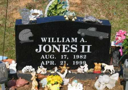 JONES II, WILLIAM A. - Lawrence County, Arkansas | WILLIAM A. JONES II - Arkansas Gravestone Photos