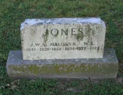 JONES, W. E. - Lawrence County, Arkansas | W. E. JONES - Arkansas Gravestone Photos