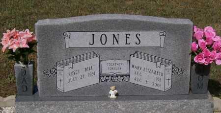 THOMAS JONES, MARY ELIZABETH - Lawrence County, Arkansas | MARY ELIZABETH THOMAS JONES - Arkansas Gravestone Photos