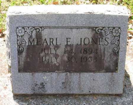 JONES, MEARL E. - Lawrence County, Arkansas | MEARL E. JONES - Arkansas Gravestone Photos