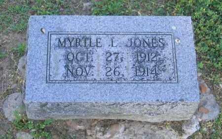 JONES, MYRTLE L. - Lawrence County, Arkansas | MYRTLE L. JONES - Arkansas Gravestone Photos